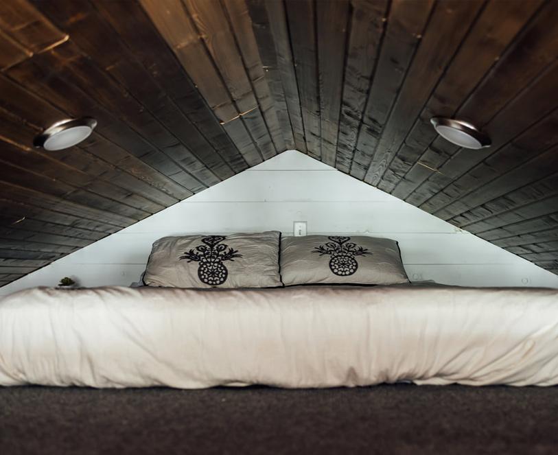 loft in the cabin